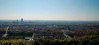 Landscape of Lyon.
