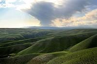 hillside in Canada