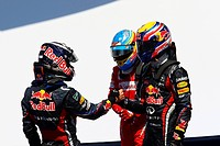 Sebastian Vettel, Fernando Alonso, Mark Webber, Formula One, European Grand Prix, Valencia, Spain