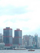 High buildings in Hongkong