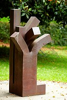Sculptures of Eduardo Chillida, Chillida Leku Museum, Hernani, Near of Donostia, San Sebastian, Gipuzkoa, Basque Country, Spain