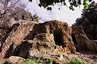 ITALY, Lazio, Cerveteri Rome, etruscan cemetery