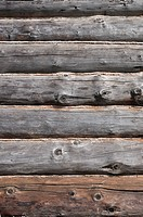 Old wooden logs