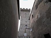 italy, tuscany, Capalbio ancient tower