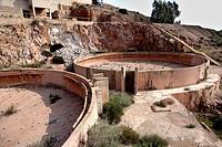Rodalquilar, Abandoned gold mine, Cabo de Gata-Nijar Natural Park, Biosphere Reserve