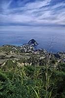 ITALY, Campania, Ischia island, S.Angelo, view of S.Angelo promontory