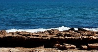 Morning mediterranean blue seascape, Spain