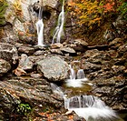 Bash Bish falls in Berkshires