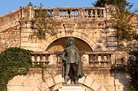 statue of D´Artagnan