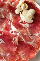 Italy, Emilia Romagna, Zibello, Culatello Typical Raw Italian Ham