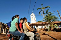 Concepción, town in the lowlands of Eastern Bolivia. It is known as part of the Jesuit Missions of the Chiquitos, declared in 1990 a World Heritage Si...