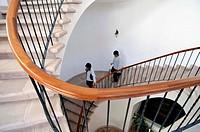 Stairs, Hotel Villa Antigua, Sucre, Bolivia
