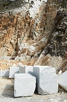 quarries of marble, colonnata, tuscany, italy