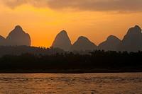 Yangshuo Li River Karst Horizontal