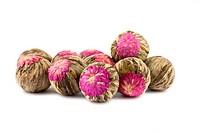 Aromatic flower green chinese tea