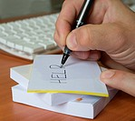 writing business note