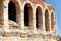 colosseum in Verona, Italy