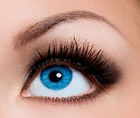 close_up of beautiful womanish eye