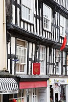 Half Timbered Buildings Ross on Wye Herefordshire England
