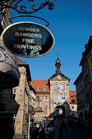 Altes Rathaus, Bamberg, Bavaria, Germany, Europe