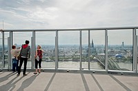 View over Cologne, North Rhine-Westphalia, Germany