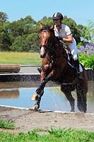Female Horse Rider, Equestrian Event