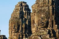 Bayon temple, dating from the 13th century, Angkor, UNESCO World Heritage Site, Siem Reap, Cambodia, Indochina, Southeast Asia, Asia