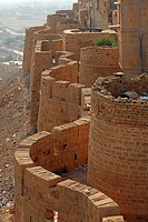 View of the Jaisalmer Fort, Jaisalmer, India