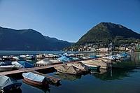 Lugano and the Lake of Lugano