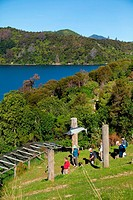 Lochmara Lodge, Marlborough Sounds, South Island, New Zealand
