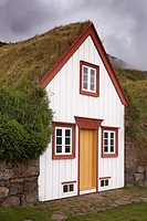 Turf house, Laufas open-air museum, Iceland