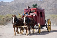 Stagecoach in Tucson