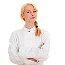 beautiful female cook