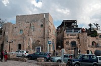 Gallery in Old quarter of Jaffa , Israel, Asia, Mediterranean