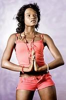 Black African model