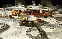 Dinner Table, Crockery
