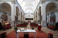 Italy, Veneto, Venice, Interior of San Pietro di Castello Church, Altar ...