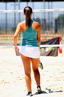 Beach Tennis player in Madrid