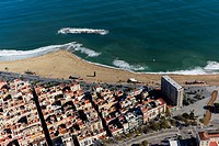 Beach of La Barceloneta  Barcelona, Spain