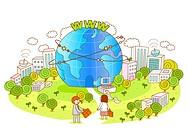 Executives moving towards the world of global communication