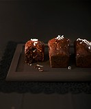 Small chocolate_coconut cakes