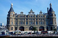 Haydarpasa station, 1908, Arch. Otto Ritter and Helmut Cuno, Turkey