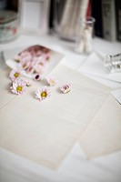 Flowers With Envelop