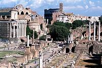 Roman Forum ruins Rome Italy