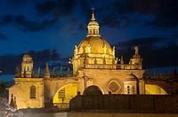 San Salvador Cathedral, Jerez de la Frontera, Cadiz-province, Spain