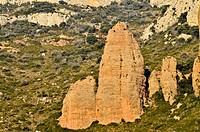 Mallos de Riglos, Huesca  Aragon, Spain