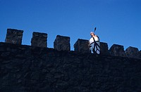 SPAIN / Castile-La Mancha / Toledo province / Consuegra  Medieval recreations in Spain  Every August the village recreates a battle of 1097 between th...