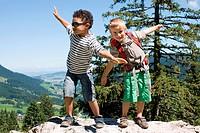 Children mountain
