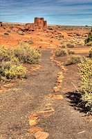 Wukoki Hopi Ruins, Wupatki National Monument, Arizona