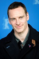 Actor MICHAEL FASSBENDER poses for photographers at the photocall for the film 'Haywire' during the 62nd Berlin International Film Festival Berlinale